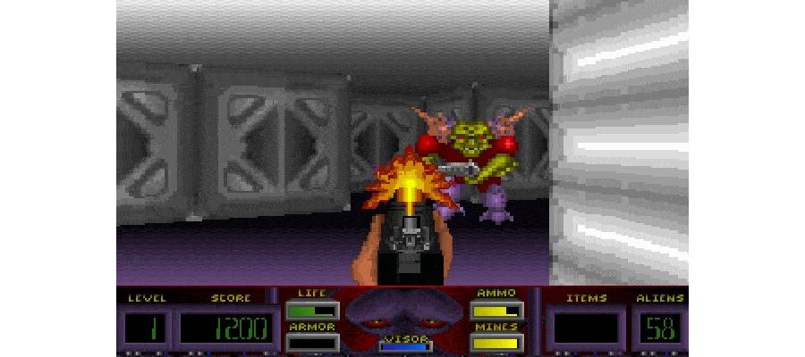 Corridor 7 - Alien Invasion