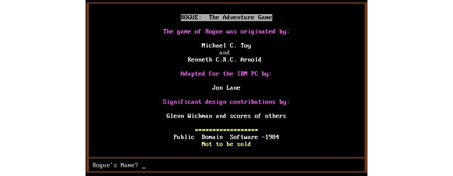 Rogue : Adventure Game